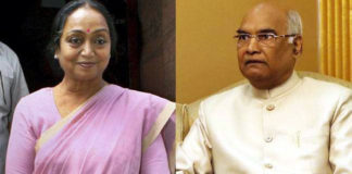 Ram kovind and mira kumari